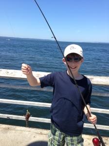 Ryan's first fish